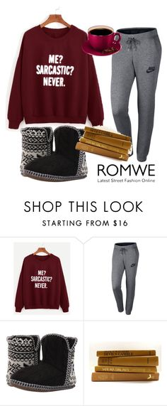 """""""Untitled #238"""" by aazraa ❤ liked on Polyvore featuring NIKE and Foamtreads"""