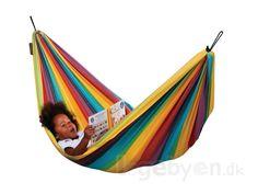 Køb Hængekøje til børn - 210 x 110 cm - Bæreevne: 80 kg - La Siesta online - Hængekøjer