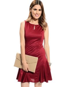 Shop ModDeals.com for Burgundy Kelly Panel Dress in our cheap trendy Dresses category. Find trendy cheap clothing for women, discount shoes, jewelry sales, perfume & cheap accessories for women.