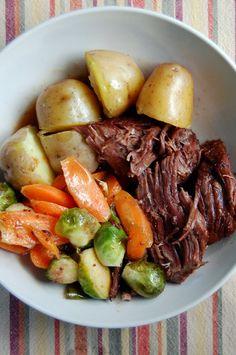 Pressure Cooker Beef Pot Roast | [pc] (--)