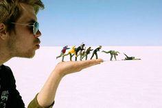ilusiones opticas de personas reales - Buscar con Google