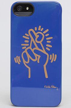 Case Scenario The Keith Haring iPhone 5 Case in Fingers : Karmaloop.com - Global Concrete Culture