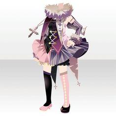 サミクラウスの愉快な夜|@games -アットゲームズ- Character Costumes, Character Outfits, Girl Inspiration, Character Design Inspiration, Fashion Line, Punk Fashion, Anime Outfits, Girl Outfits, Chibi