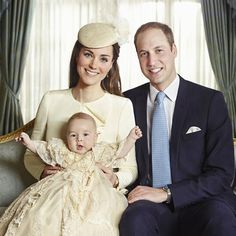 See Prince George's Official Royal Christening Portraits