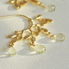 Dew drops earrings | Flickr - Photo Sharing!