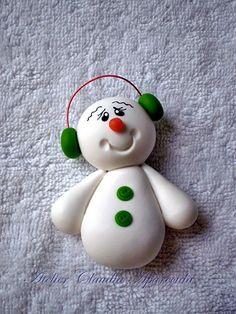 Hanger Christmas Tree, Christmas Topper, Polymer Clay Christmas, Diy Christmas Ornaments, Holiday Crafts, Polymer Clay Ornaments, Polymer Clay Crafts, Clay Magnets, Clay Mugs
