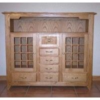 Mission Buffet Woodworking Plan