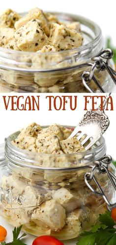 This easy homemade vegan tofu feta cheese is made with a few simple ingredients in just minutes! It tastes amazing and can be swapped out for feta in most recipes. thehiddenveggies.com