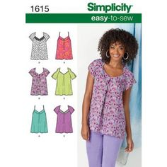 Simplicity Pattern 1615-1615 14 to 22
