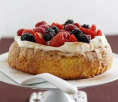 Simple Spanish Almond Cake (gluten free) from Take a Box of Eggs Dairy Cookbook
