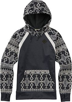 a0845f32af Burton Womens Heron Pullover True Black HeatherMojave Stripe Large     Find  out more about