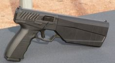 The suppressor maker is stepping into firearm production, displaying the improved version of their 9mm Maxim integrally suppressed handgun at SHOT Show 2016.