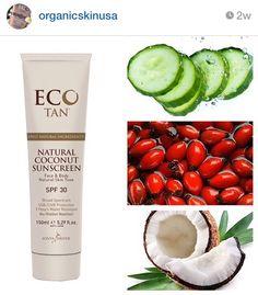 Certified Organic EcoTan! No Nasty Chemicals!