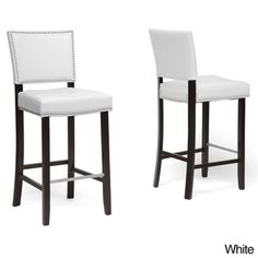 Find bar stool, bar stool from our wide variety of bar stools. libra modern bar stool with nail head trim is a beautiful bar stool.It will sure to give stylish look to your bar. Contemporary Bar Stools, Modern Bar Stools, Modern Contemporary, White Bar Stools, Modern Luxury, Bar Furniture, Modern Furniture, Kitchen Furniture, Furniture Design