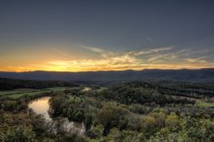 View from Shenandoah River State Park