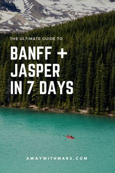 Kayak Tips Packing Lists The Ultimate Guide to Banff and Jasper in 7 Days Parc National De Banff, National Parks, Jasper National Park, Over The Rainbow, Places To Travel, Places To See, Travel Destinations, Vancouver, Alberta Travel