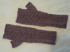 Fingerless mitts made for a dear friend in The yarn IS sparkly! Fingerless Mitts, Dear Friend, Arm Warmers, Charity, Knitting, Gifts, Fashion, Moda, Presents