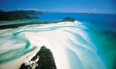 Whitsundays Whitehaven Beach Aerial View