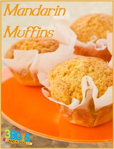 Source: 3 Boys and a Dog Orange Muffins Recipe Mandarin Muffins Yummy Orange Muffins Recipe Prep time 10 mins Cook time 25 mins Total time 35 mins Author: Kelli Miller Recipe ty… Muffin Recipes, Baking Recipes, Breakfast Recipes, Dessert Recipes, Baking Hacks, Breakfast Muffins, Mini Muffins, Eat Breakfast, Orange Recipes