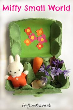 miffy in the garden small world craft