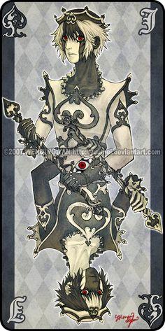 Augen Auf: Jack of Spades by yuumei on deviantART