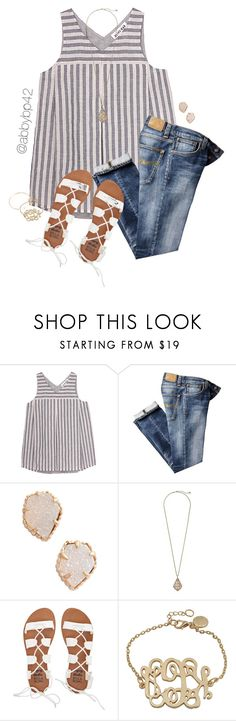 """Almost out!!"" by abbybp42 ❤ liked on Polyvore featuring Olive + Oak, Nudie Jeans Co., Kendra Scott, Billabong, BaubleBar and summertime"