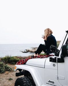 jeep, travel, and beach image