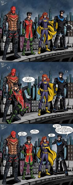 Robin Comics, Dc Comics Art, Marvel Dc Comics, Im Batman, Batman Robin, Marvel Films, Marvel Characters, Nightwing, Batgirl