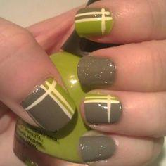 {stripes} nails by Smashley