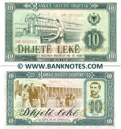 ALBANIA 5 Leke 1976 P-42 Train Ship UNC Uncirculated