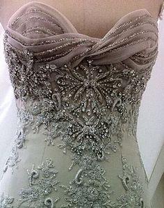 Wearable Art - Intricately Designed Dress