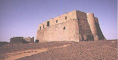 Ancient Sudan~ Nubia: History: The Christianization of Nubia - Nubian Church, Old Dongola, Central Sudan.