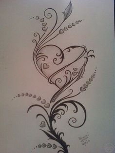 Pencil drawings of love, pencil drawing images, love heart drawing, easy drawings, Pencil Drawing Images, Pencil Drawings Of Love, Art Drawings Sketches, Doodle Drawings, Drawing Ideas, Drawings Of Hearts, Pencil Sketching, Music Drawings, Images Of Drawings