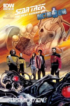 Star Trek/Doctor Who Assimilation 2 #4 Review
