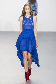 Issa at London Fashion Week Spring 2016 - Livingly