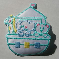 Baby Patch Noah's Ark Animals Elephant Bear Giraffe Blue Yellow Green Iron On Applique Embroidered Cute Sew Pcs Badge Patches Craft Girl Mix Appliques 5 4 Infant Diy Garment Sewing 2 New Jacket Patches Emblem Upick Nation Trim X3 Standard Logo Motif Appliques Cloth Embroidery Rose Trim Embellished Embellishments Embroider Embellish Style Colorful Added Addition -- You can get more details by clicking on the image.