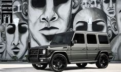 black on black mercedes g wagon - A effusive gift for Natalie Marie Coyle Mercedes G55 Amg, Mercedes G Wagon, Mercedes G Class, G Wagon Matte Black, G Class Amg, Benz G, Car Goals, Luxury Suv, Toys For Boys