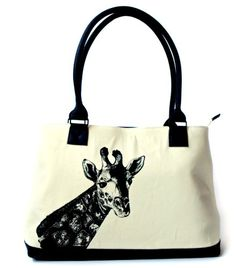 Giraffe Handbag Tote Bag Purse *** Check this awesome product by going to the link at the image.
