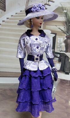 BCCan Designs OOAK fashion For Barbie Silkstone & Fashion Royalty 202 | Flickr - Photo Sharing!