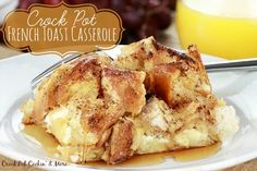 Crock-Pot French Toast Casserole - LICouponQueen.com