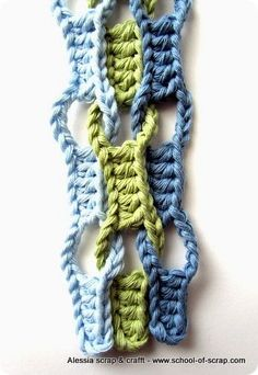 Crochet Wave Stitch - Tutorial ❥ 4U // hf
