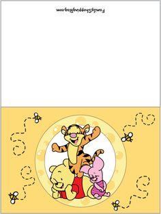 Free printable invitation pooh