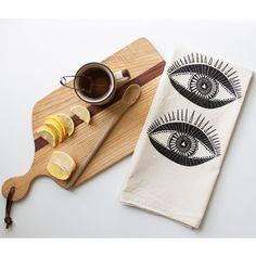 Seeing Eye Tea Towel