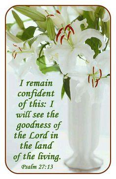 Psalm 27: 13.