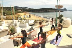 Featured Ibiza Yoga space: Atzaro Beach - White Ibiza