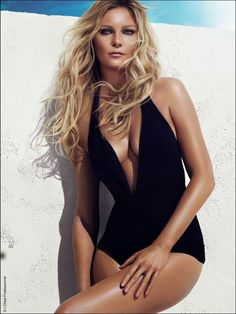 We love this look- tousled waves so perfect for this season! Kirsten Dunst for L'Oreal Professionel