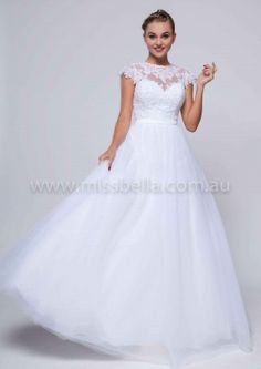 Miss Bella has THE LARGEST Range of Brand-New, In-Store Deb Dresses in Melbourne. We have over Deb Dresses to buy off the rack! Deb Dresses, Flower Girl Dresses, Formal Dresses, Debutante Dresses, Bella Bridal, Illusion Neckline, Wedding Bridesmaid Dresses, Dress Ideas, Wedding Planning