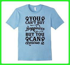 Mens you can't buy happiness cute puppy dogs father t-shirts 3XL Baby Blue - Relatives and family shirts (*Amazon Partner-Link)