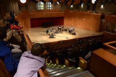 "Centennial Guest Alumni Musicians series welcomed John and Chris Robison ´05 of ""All the Friends"" – a four-piece indie/chamber pop ensemble to campus on Thursday, January 8, 2015."