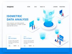 isometric blockchain Banner designed by summer for Top Pick Studio. Connect with them on Dribbble; Responsive Web Design, Ui Web, Portfolio Web Design, Portfolio Website, Web Design Trends, App Design, Creative Banners, Isometric Design, Startup